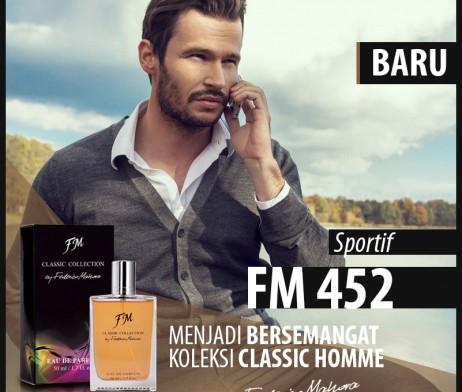 Parfum Pria Klasik EDP FM 452 terinspirasi Aroma CHANEL – Allure Homme Sport